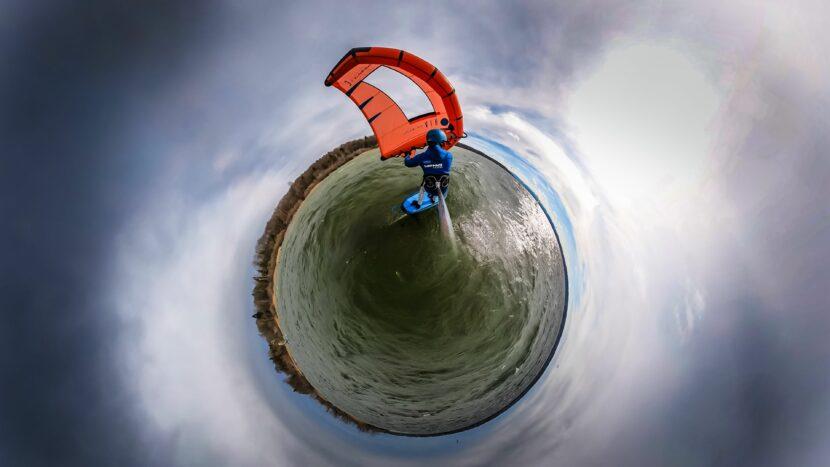 360° Aufnahme mit dem FreeWing am Ammersee